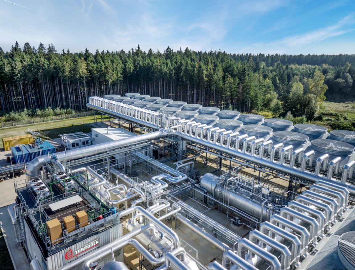 Turboden geothermal plant in Kirchstockach - Munich Germanyjpg