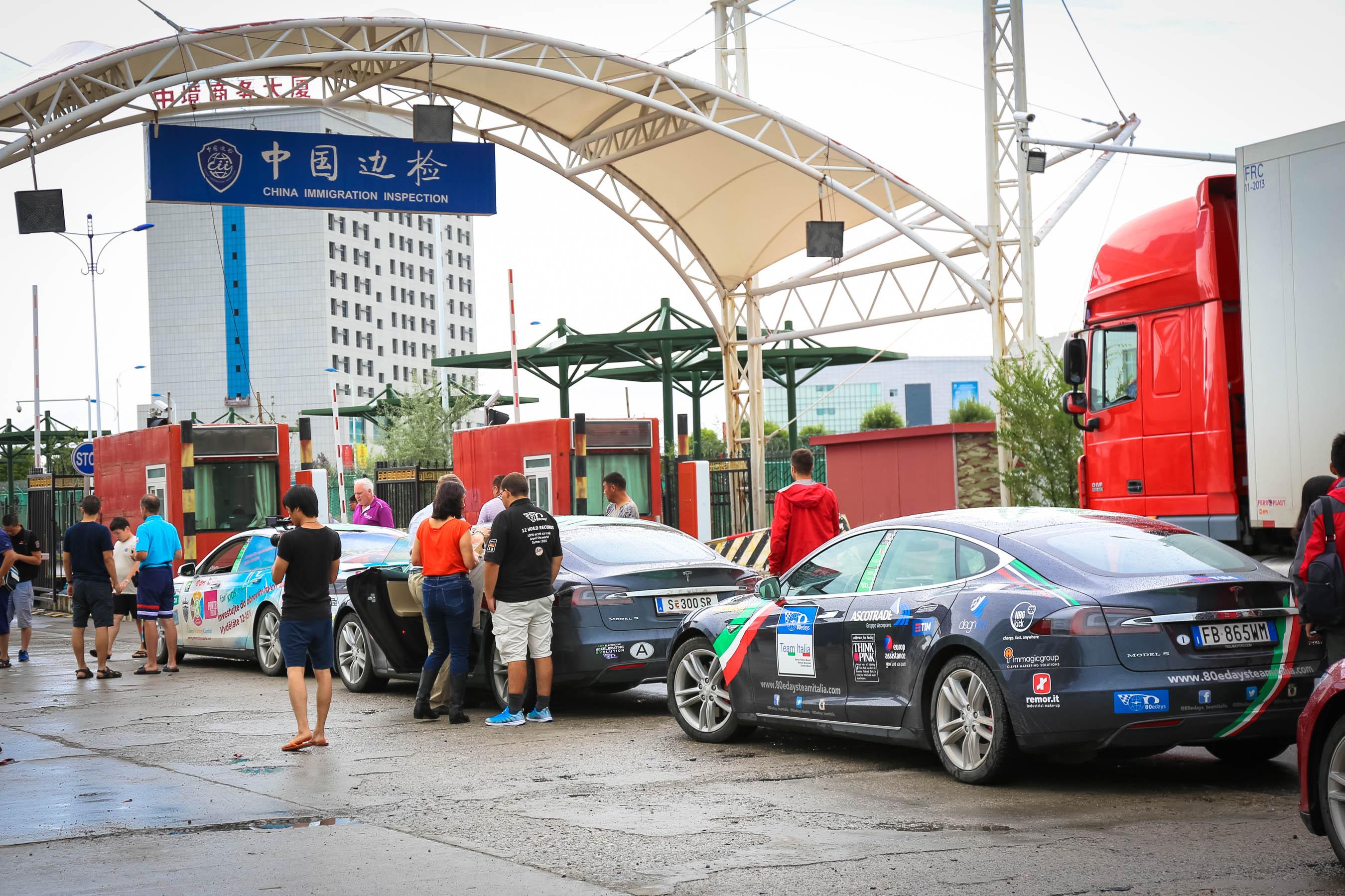 Arrivo in Cina