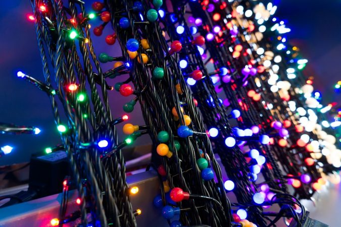 consumi energetici nel periodo natalizio