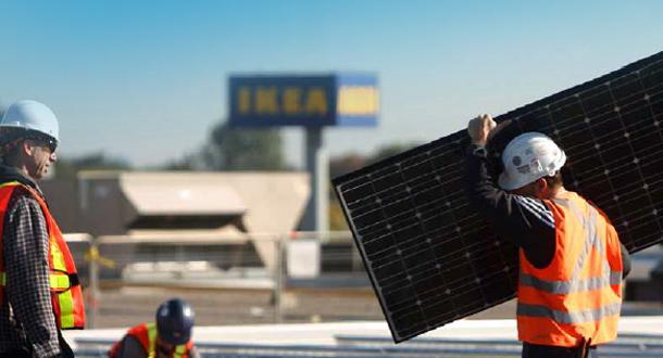 Pannelli fotovoltaici IKEA