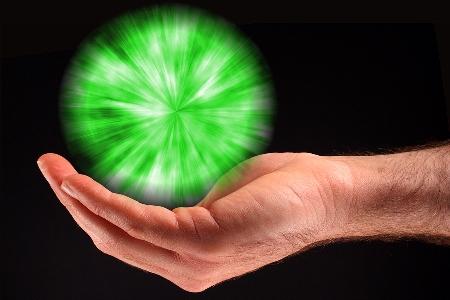 Green Ball Of Light