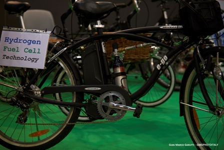Bike a idrogeno, una realtà italiana
