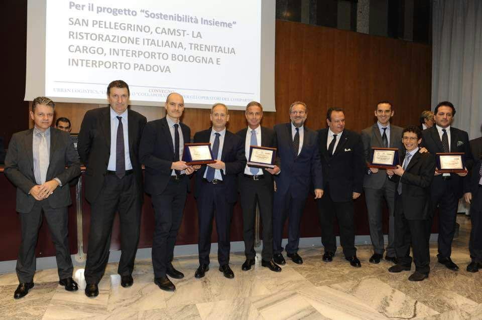 Premiazione SanPellegrino CAMST