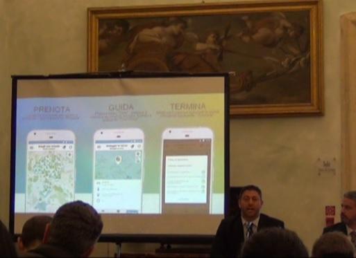 eCooltra, conferenza stampa al Campidoglio