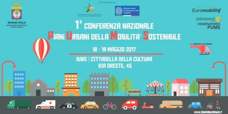 L'evento a Bari sui Piani Urbani della Mobilità Sostenibile
