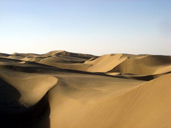 deserto di Taklimakan ( foto da Wikipedia)