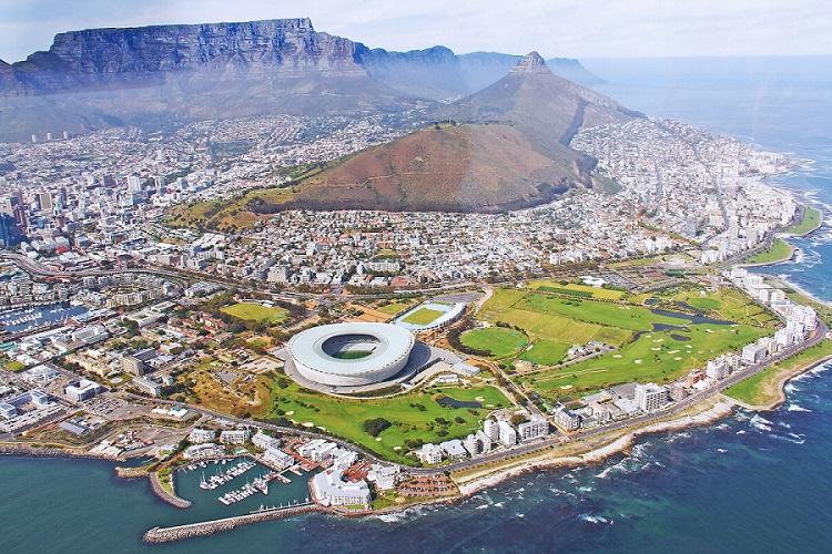 Città Del Capo Visione Aerea