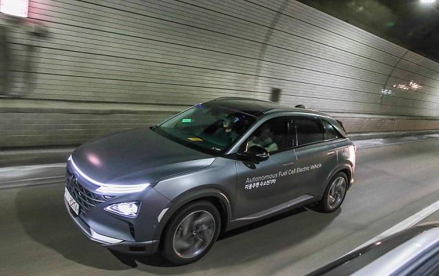NEXO Autonomous Fuel Cell Electric Vehicle Showcase 4