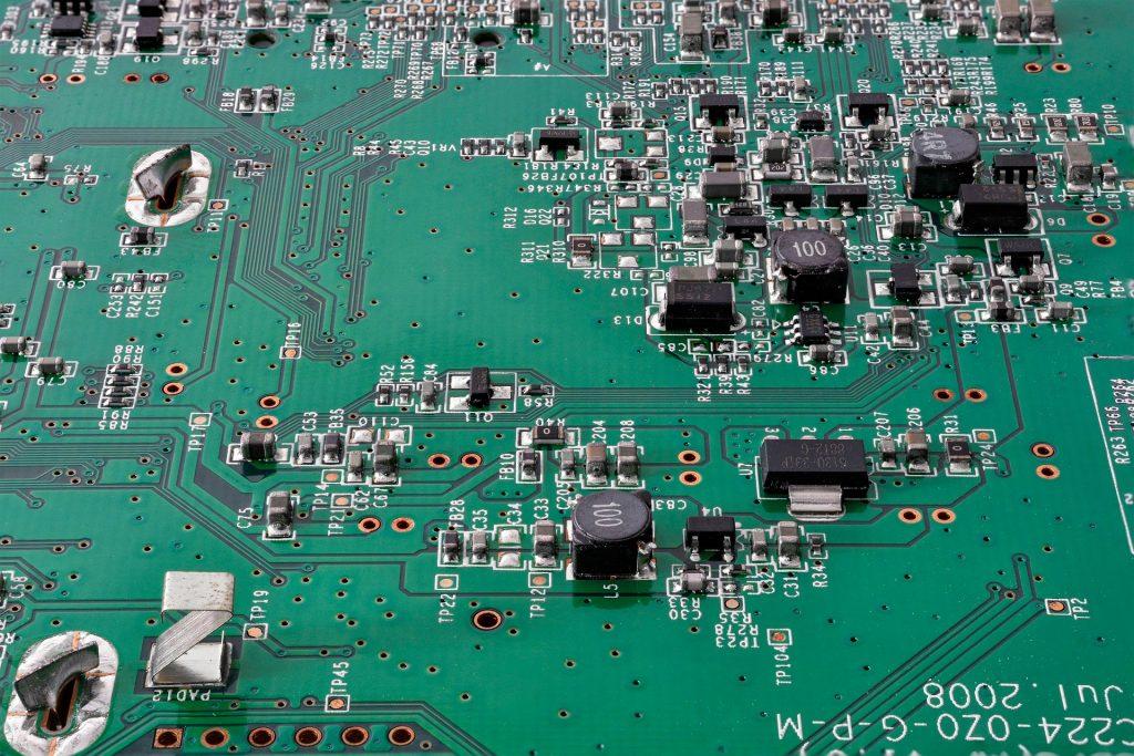 RAEE circuit board