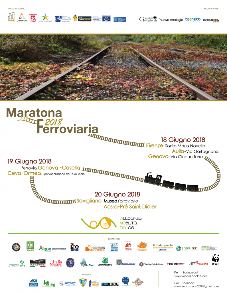 Maratona Ferroviaria Locandina 796x1024