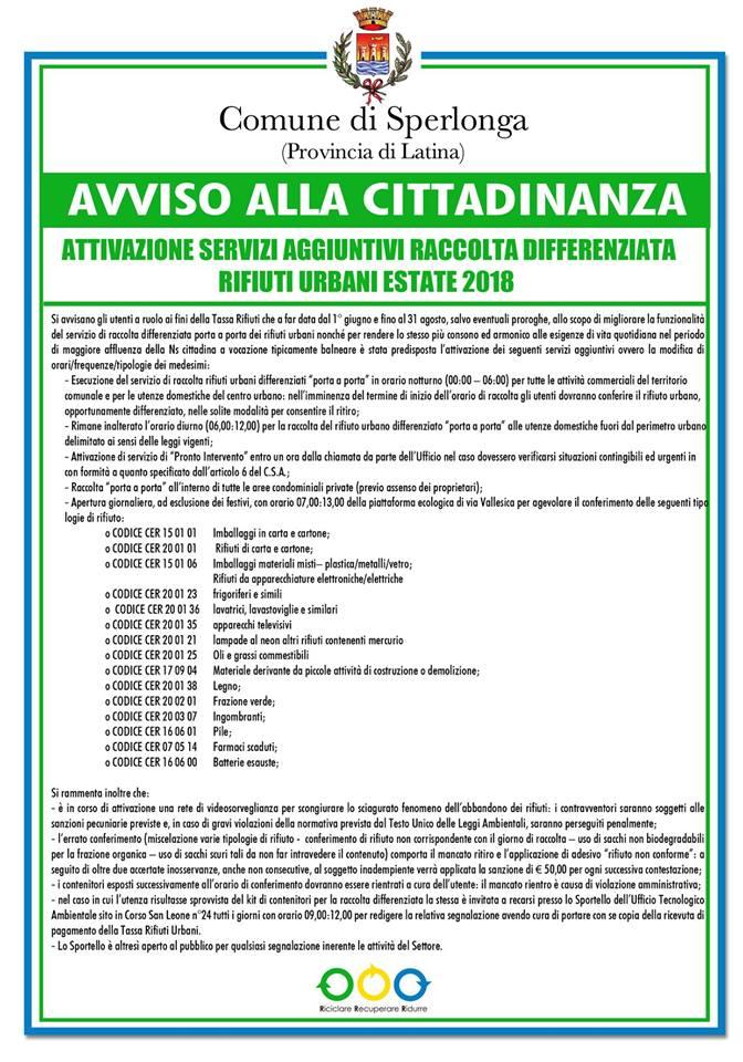 Calendario Raccolta Differenziata La Spezia 2020.Dove Lo Riciclo Raccolta Differenziata Le Novita Della