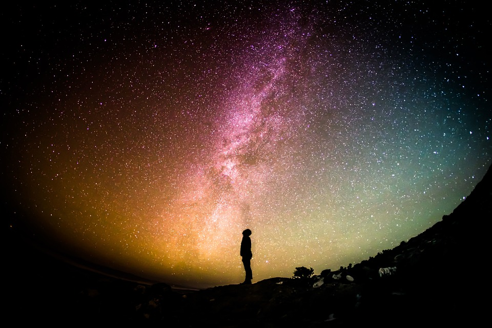 Milky Way Spazio Cambiamentoclimatico
