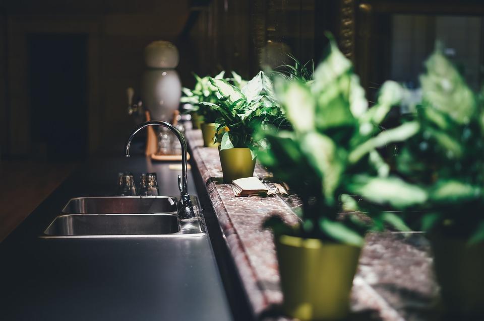 Kitchen Green Cucina Carbonfoodjpg