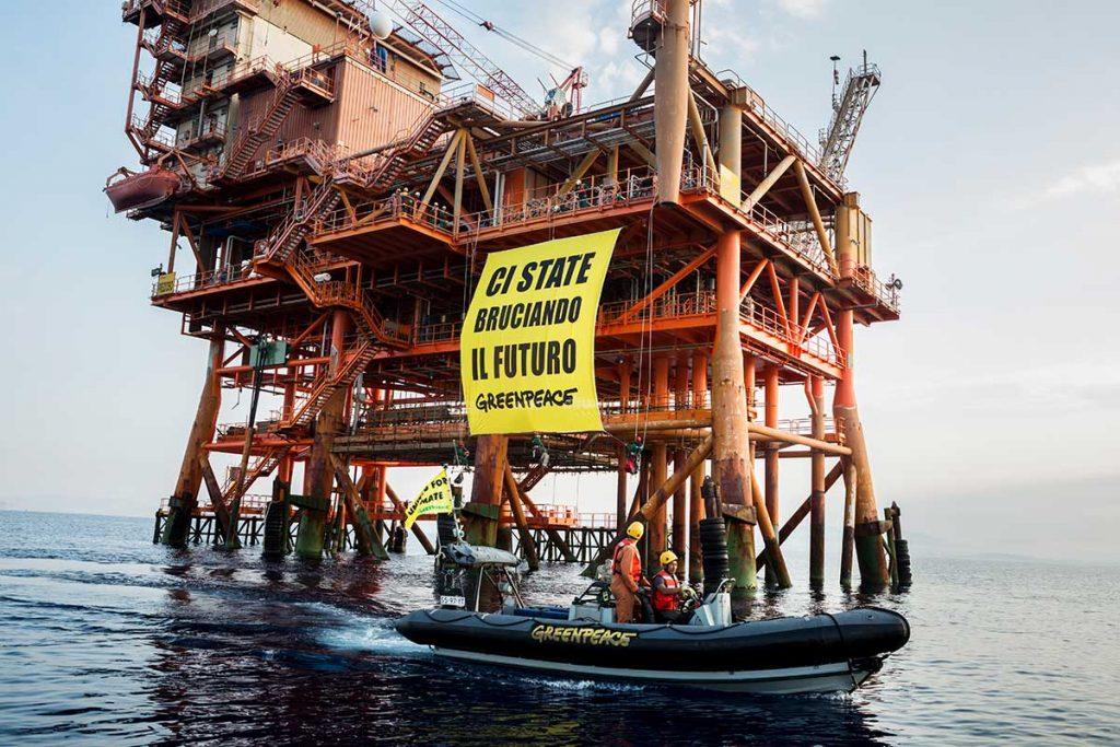 Greenpeace piattaforma