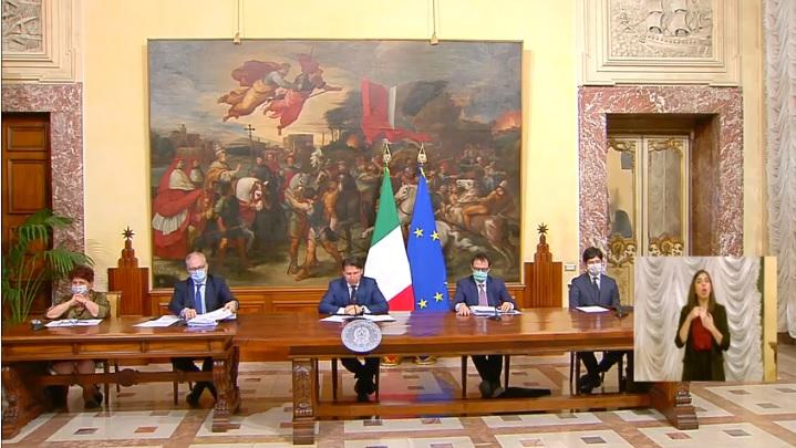 DLrilancio approvato conferenza stampa