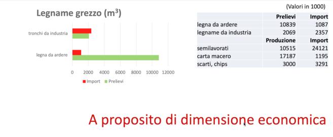 Strategia nazionale foreste _ prezzo legname