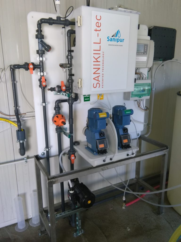 sanificazione reti idriche