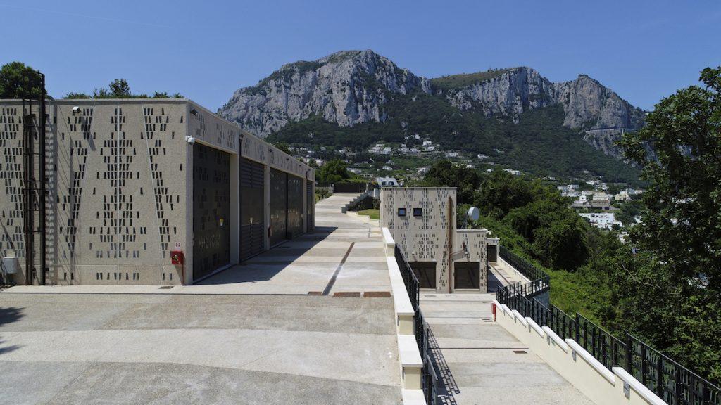 Stazione elettrica a Capri