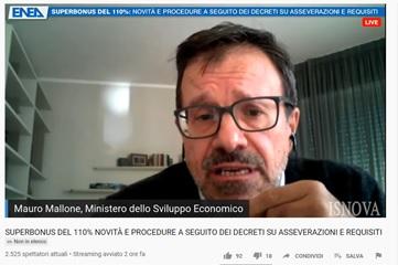 Mauro Mallone chiarimento del comparto sul bonus 110%