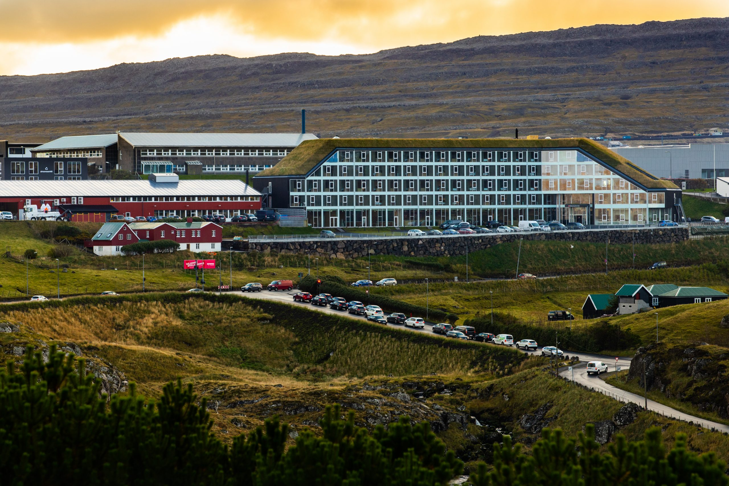 Hilton struttura isole Faroe