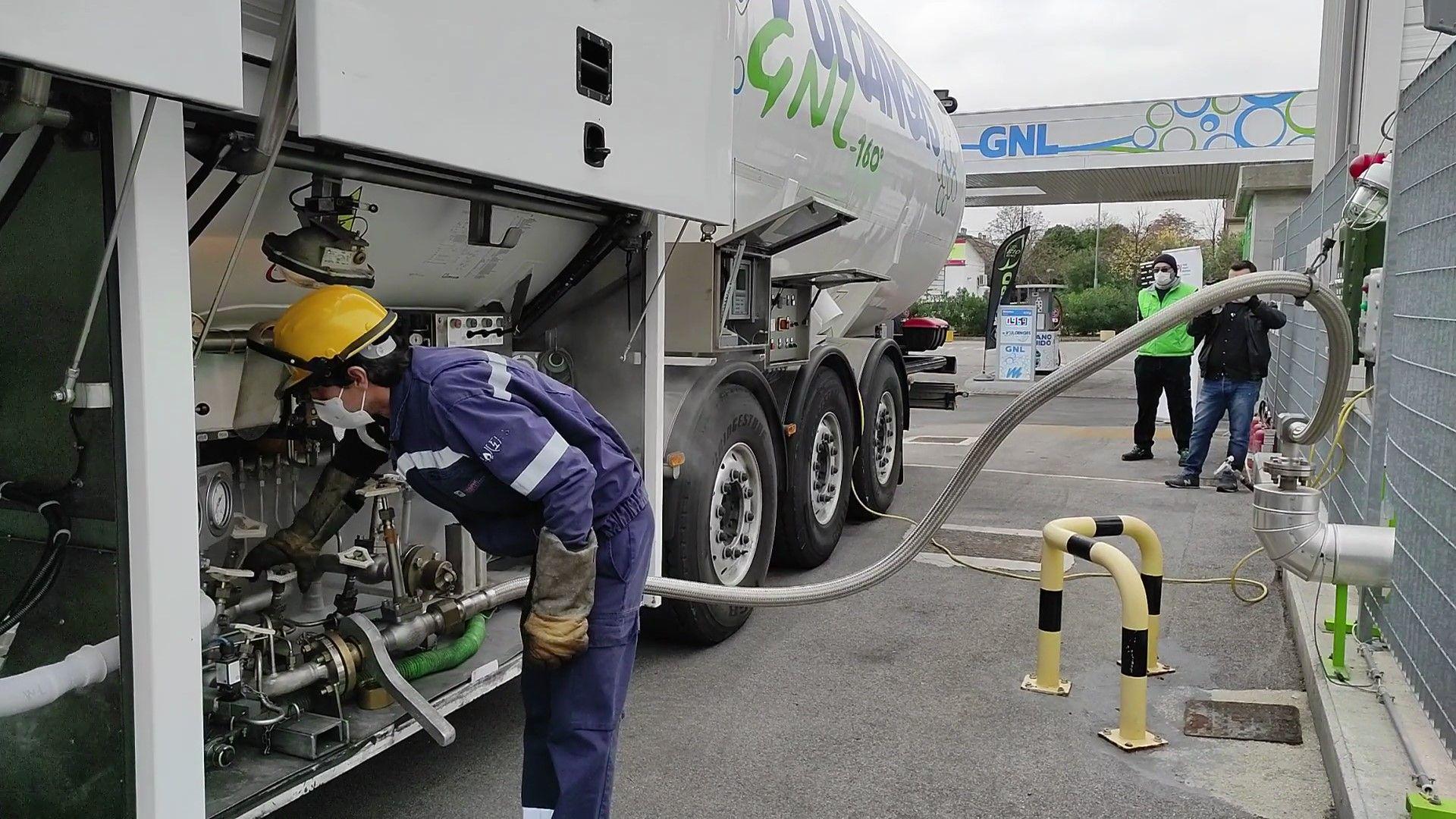 primo rifornimento di bio-LNG in Italia