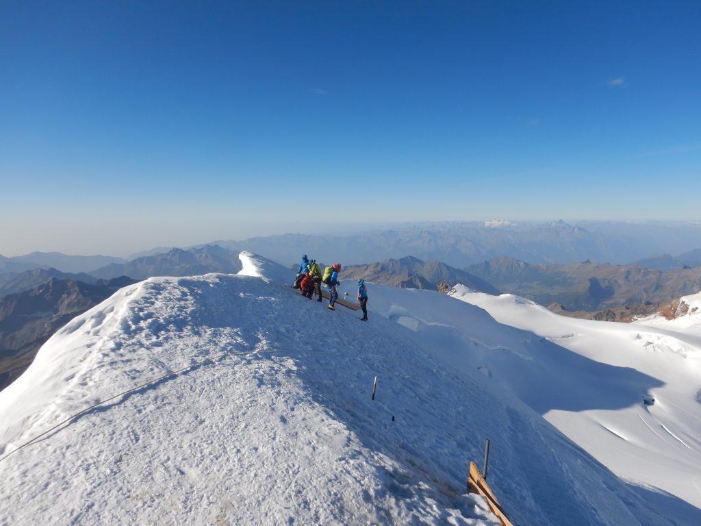 Monte Rosa ghiacciai