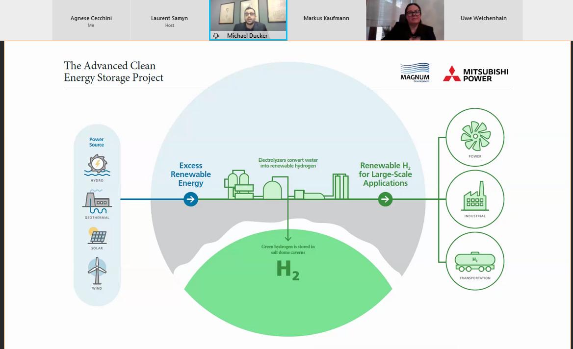 Advanced Clean Energy Storage che sorgerà nello Stato dello Utah presenta Ducker