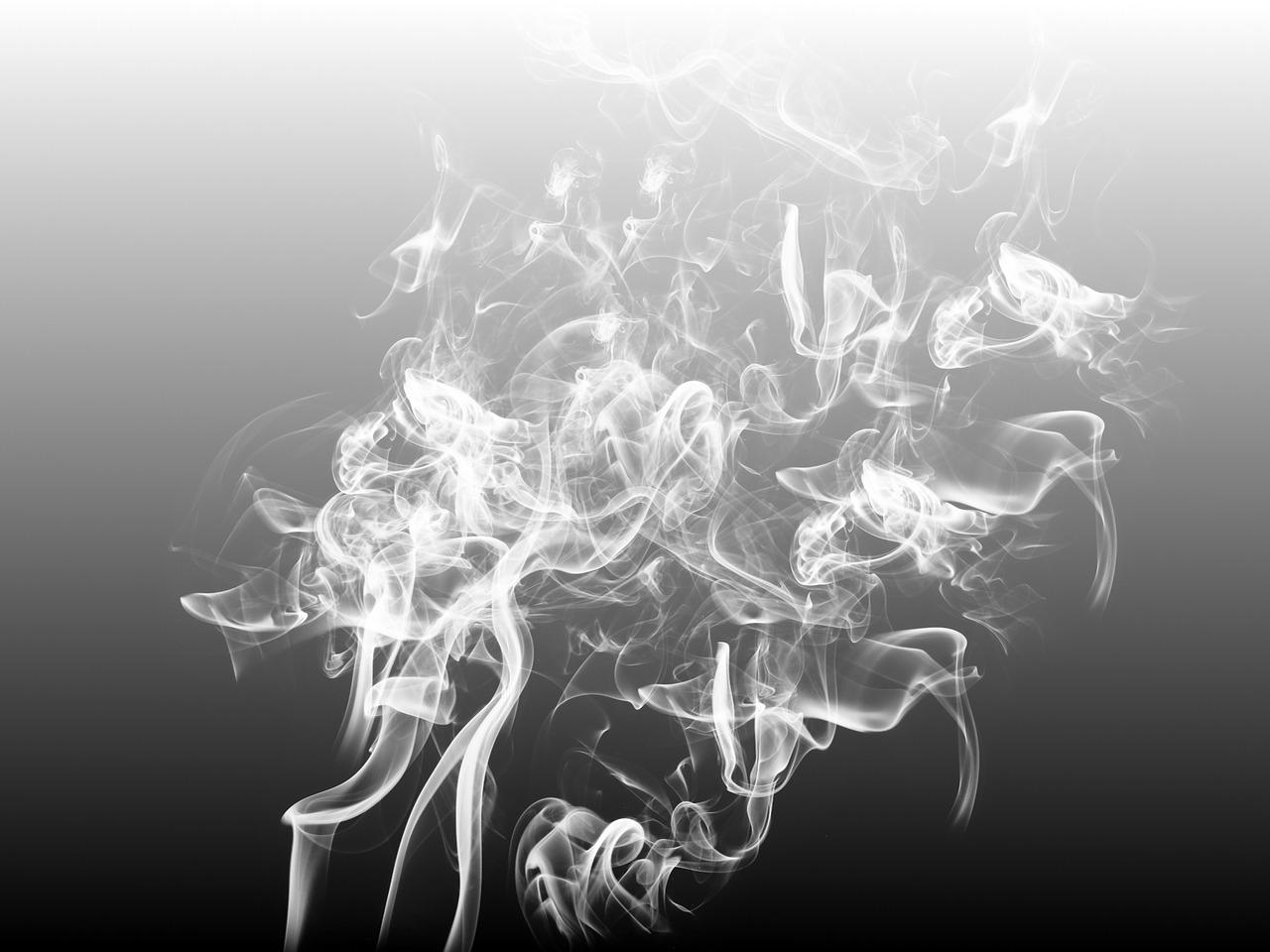 smoke vapore acqua