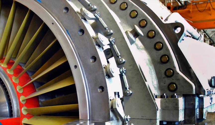 ansaldo turbina a gas AE64.3A