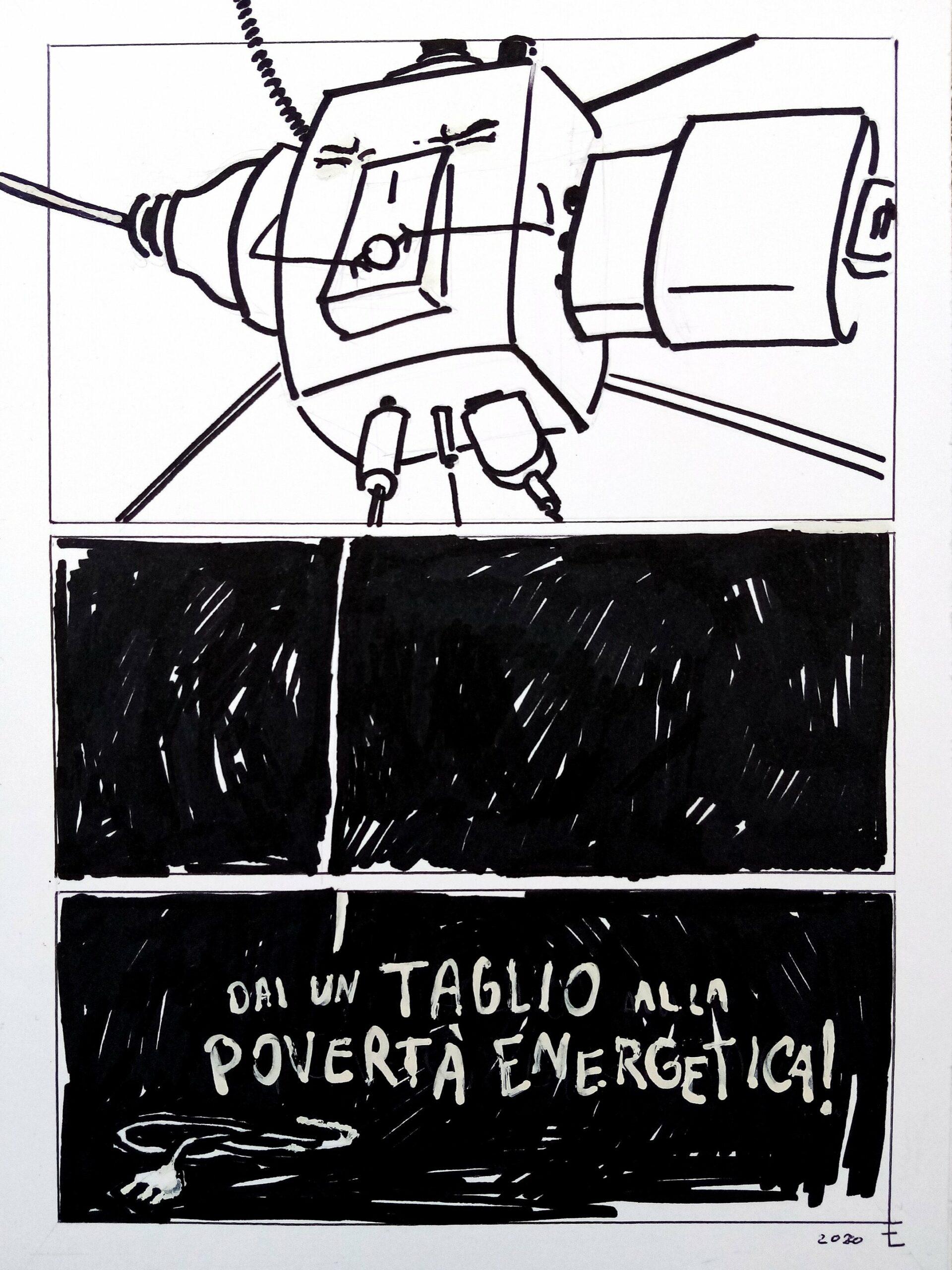 """Elisabetta Frassine IS IT IN THE BLACK Partecipante al concorso !""""Dai un taglio alla povertà energetica"""""""