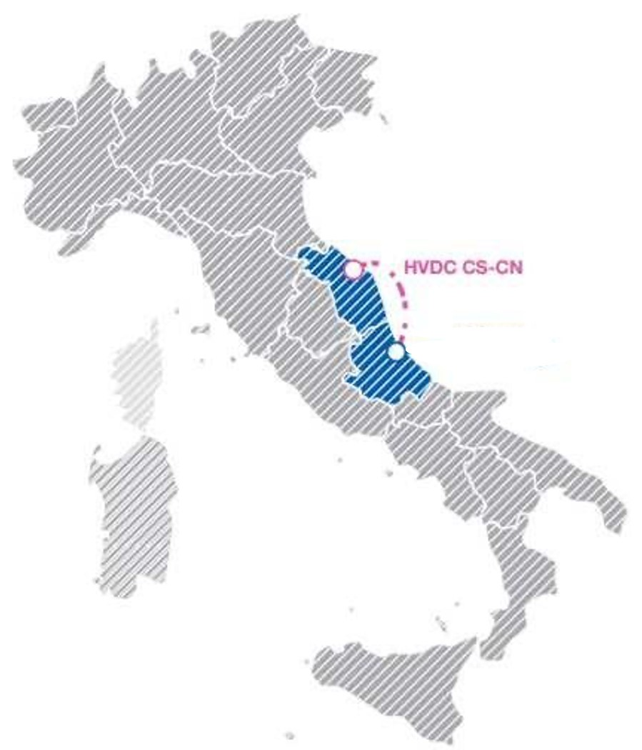 Adriatic Link Tracciato