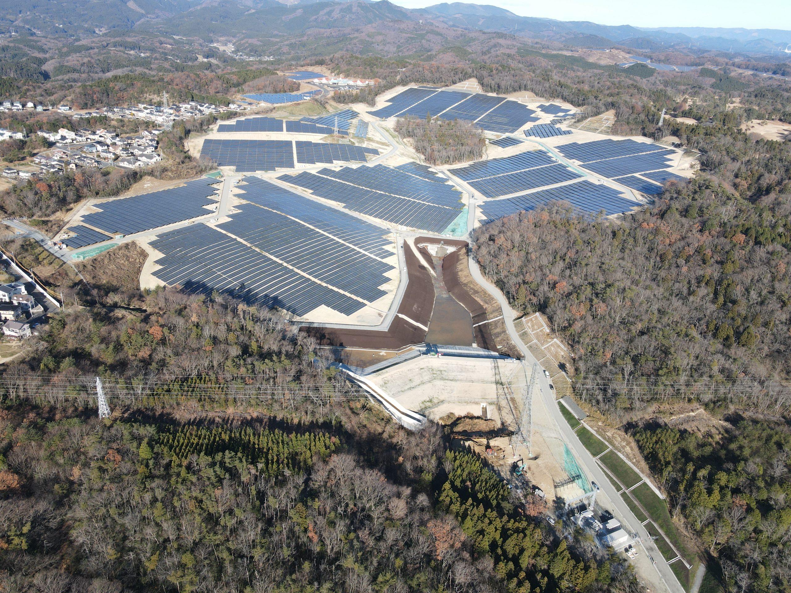 BayWa r.e. impianto in Giappone