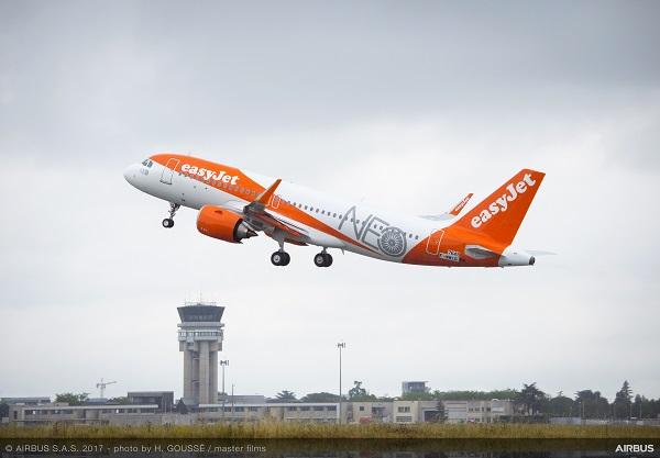 easy jet e sostenibilità nel settore aereo