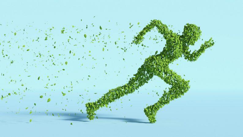 Scarpe da running 100% sostenibili in abbonamento