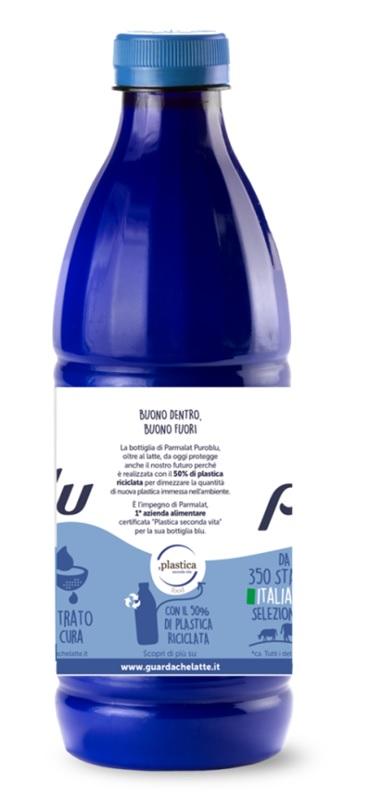 Bottiglia R-PET parmalat