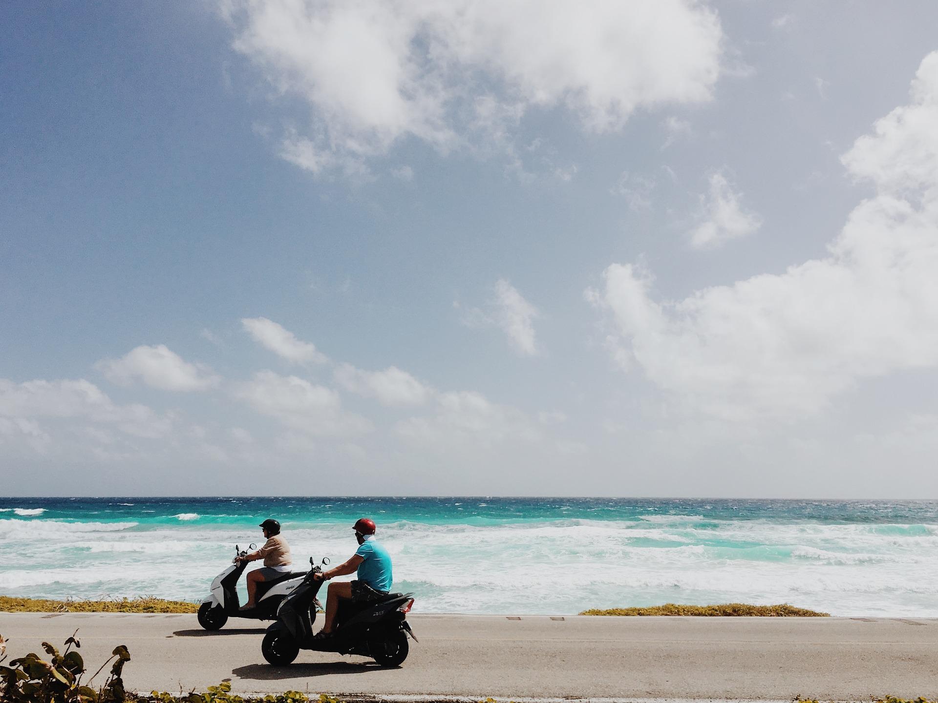 beach-scooter