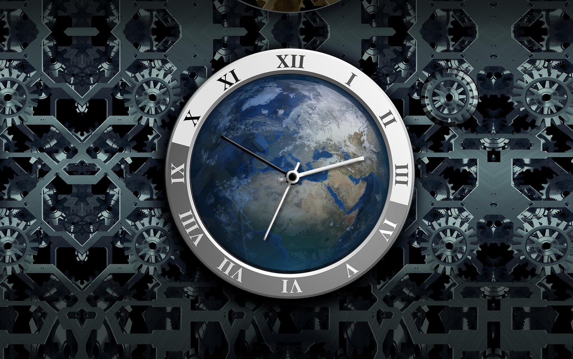 ora legale orologio terra ambiente