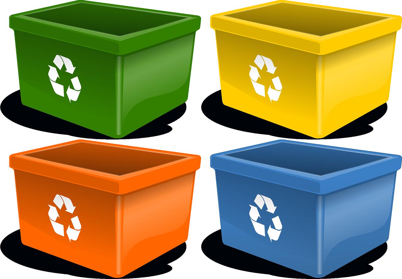 container- differenziata riciclo