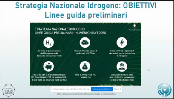 strategia nazionale idrogeno