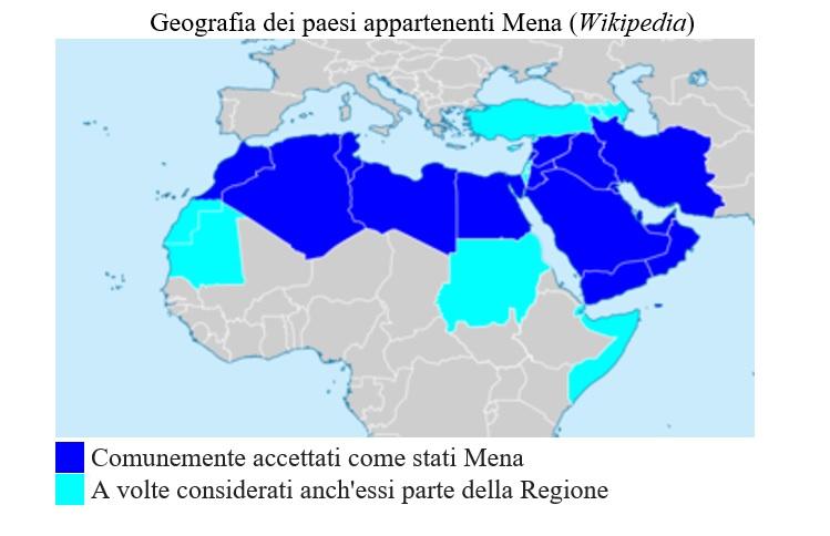 paesi mena