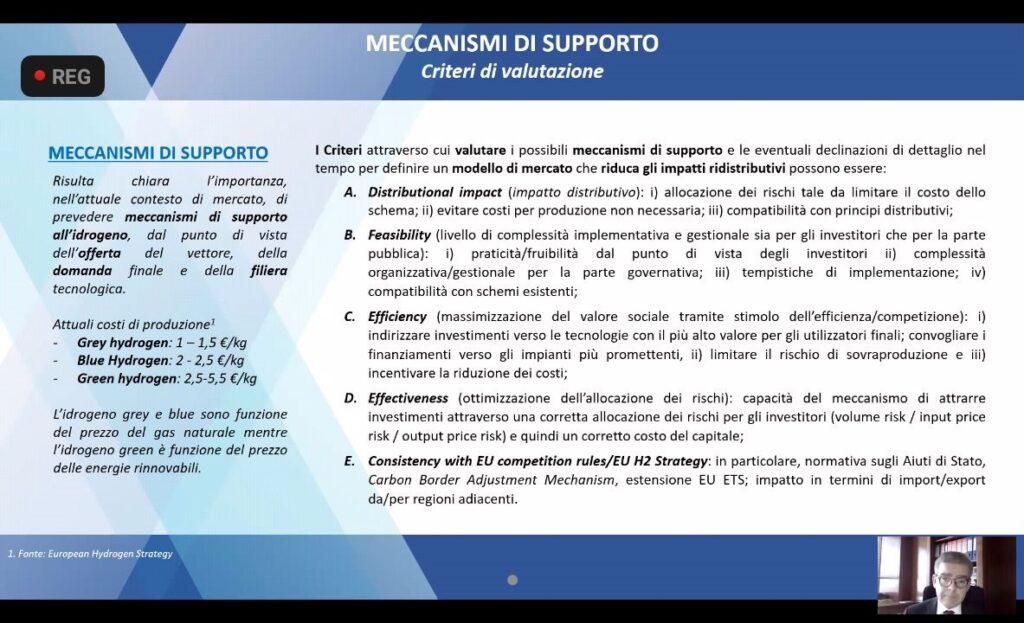 criteri valutazione supporto