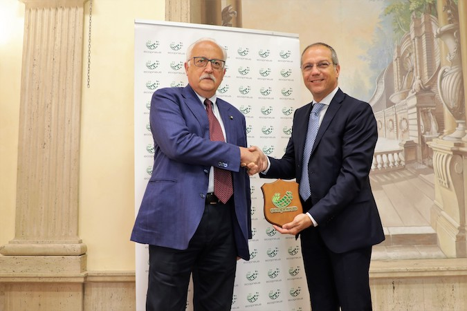 Report Ecopneus_Giovanni Corbetta e DG Federico Dossena