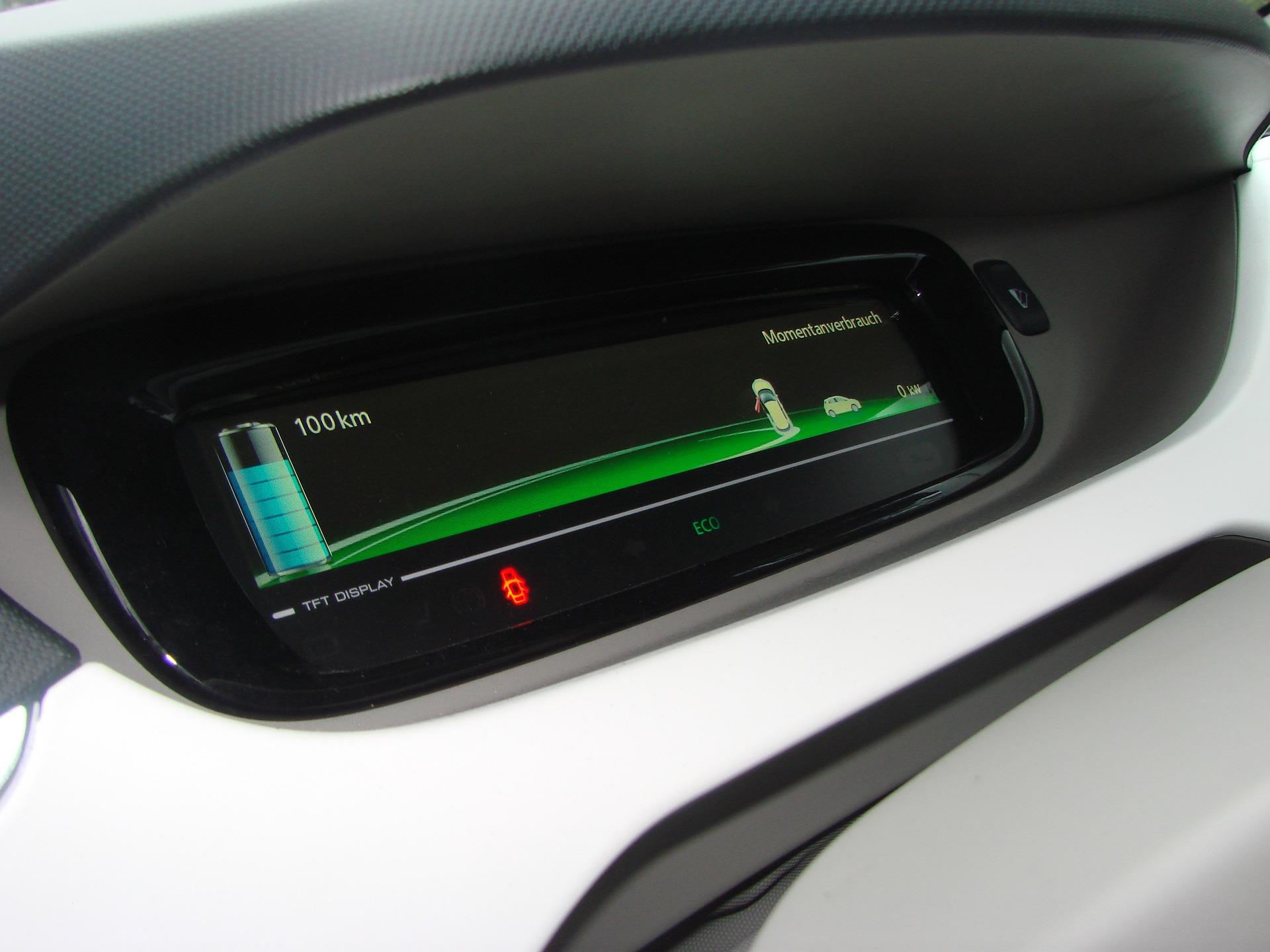 electric-car auto eco friendly