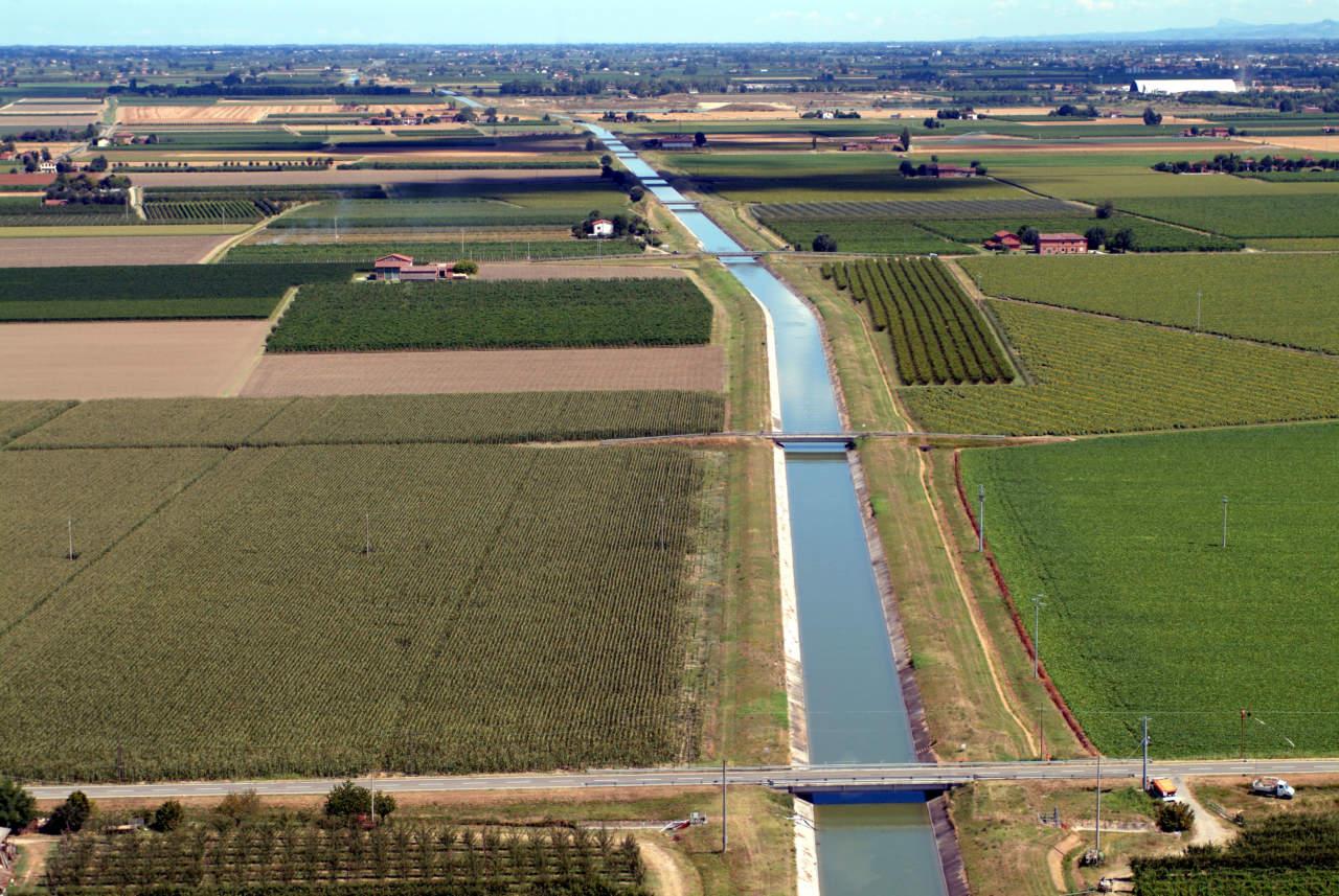 siccità in Emilia-Romagna Canale Emiliano Romagnolo-CER_ANBI Emilia-Romagna