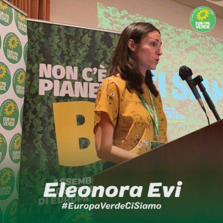 Eurodeputata Eleonora Evi_Europa Verde-Verdi
