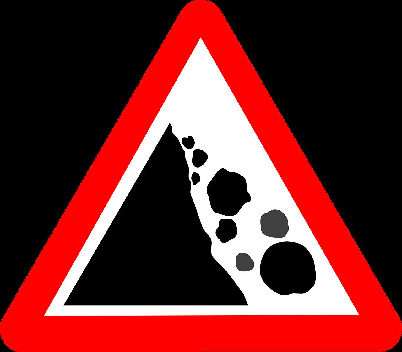 rockslide carte geologiche frane