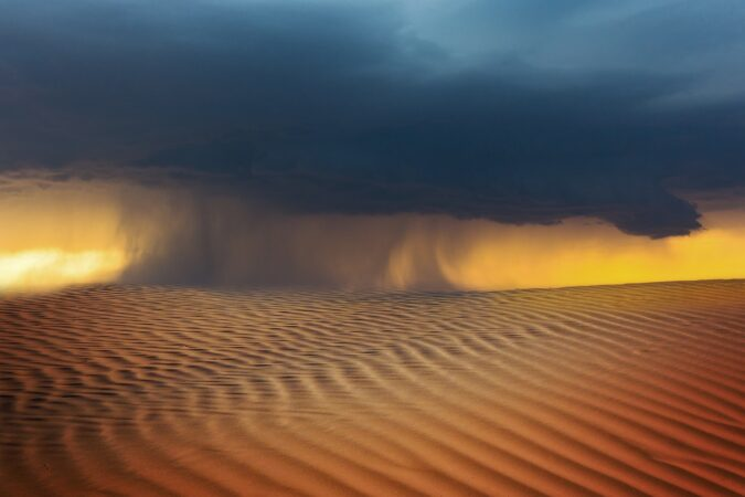 tempesta di sabbia Sahara
