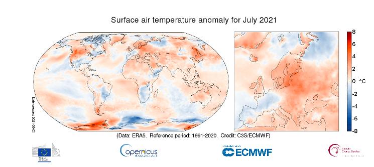 luglio caldo 2021