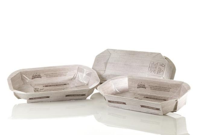 Graphic packaging international e BillerudKorsnäs per la PaperSeal® Map tray burger solution
