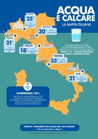 infografica mappa calcare